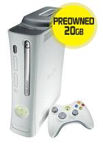 Xbox 360 20GB Pro Console (preowned)