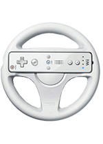 Nintendo - Steering Wheel - Wii Remote Peripheral