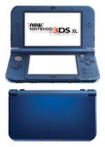 New Nintendo 3DS XL Console (Metallic Blue)