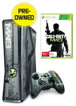 Xbox 360 320GB Limited Edition Modern Warfare 3 Console + Game (preowned)