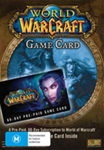 World of Warcraft Game Card 60 Day