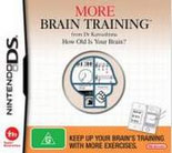 More Brain Training from Dr Kawashima: How Old Is Your Brain? (preowned)