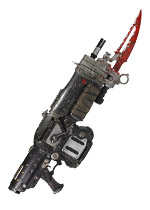 Gears of War 3 Pendulum Wars Lancer Replica