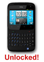 HTC Cha Cha (Black) - UNLOCKED - Online Only!
