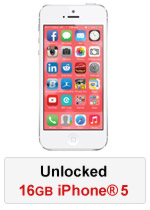 iPhone® 5 16GB Unlocked - White (Refurbished by EB Games) (preowned)