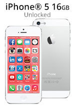 iPhone® 5 16GB - White (Refurbished by EB Games)