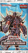 Yu-Gi-Oh Battle Pack 3: Monster League Booster Pack