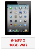iPad® 2 16GB WiFi - Black (Refurbished by EB Games)