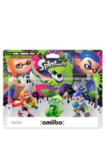 Nintendo amiibo (Splatoon) - Triple Character Figure Pack