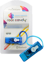 Rock Candy PS3 Bluetooth Communicator - Blue