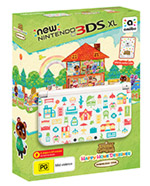 New Nintendo 3DS XL - Animal Crossing: Happy Home Designer Edition bundle
