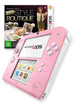 Nintendo 2DS (Pink) + New Style Boutique