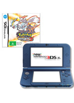 New Nintendo 3DS XL (Blue) + Pokemon White Version 2
